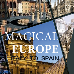 A true Europe discovery through Spain, Italy, Cologne, Europe, Venice, Padua, Madrid, and Paris