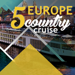 Visit Munich, Prague, Vienna, Austria, Budapest in a river cruise